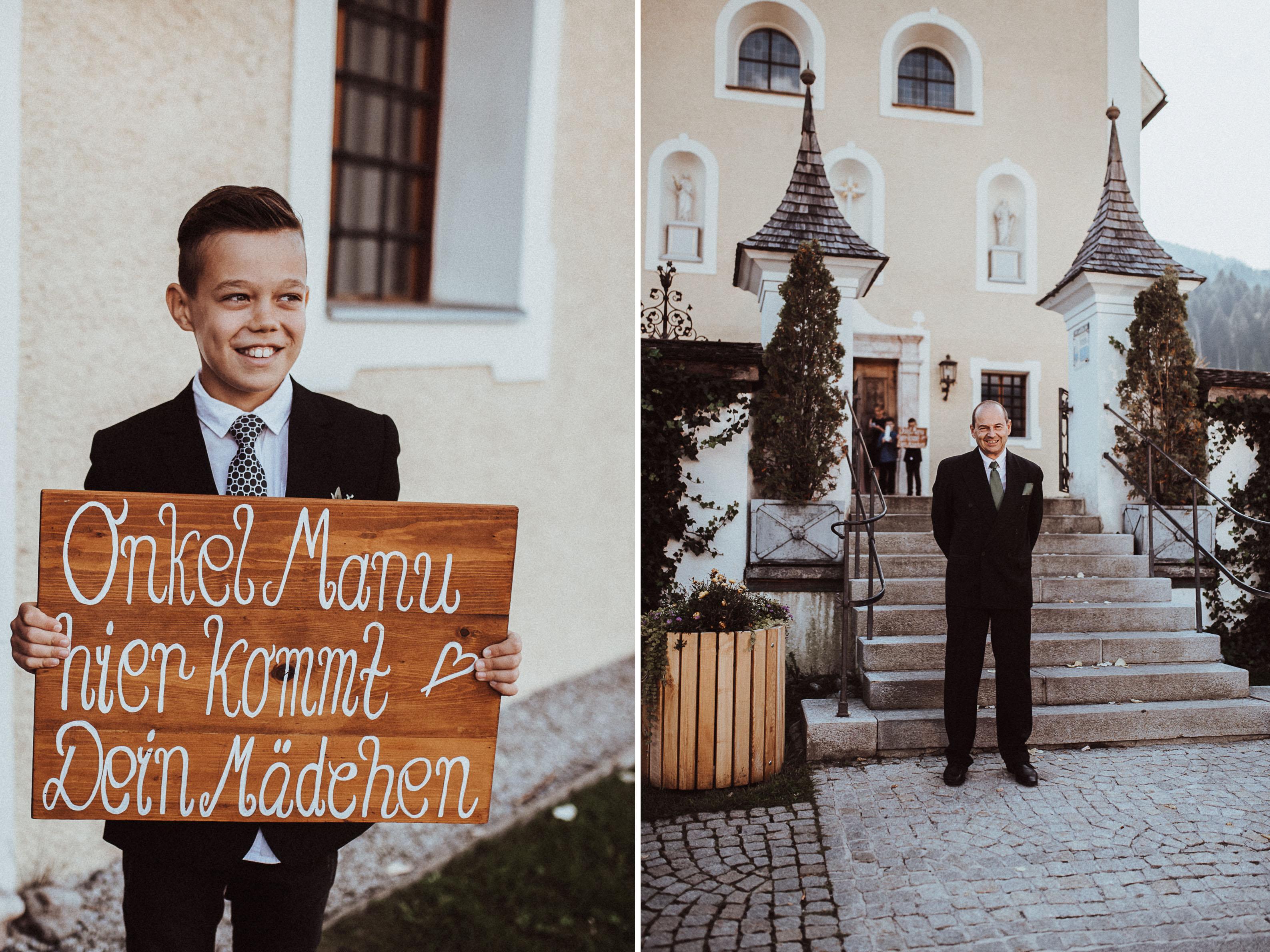 holztafel neffe Sonja Pöhlmann Photography Wedding München Bayern