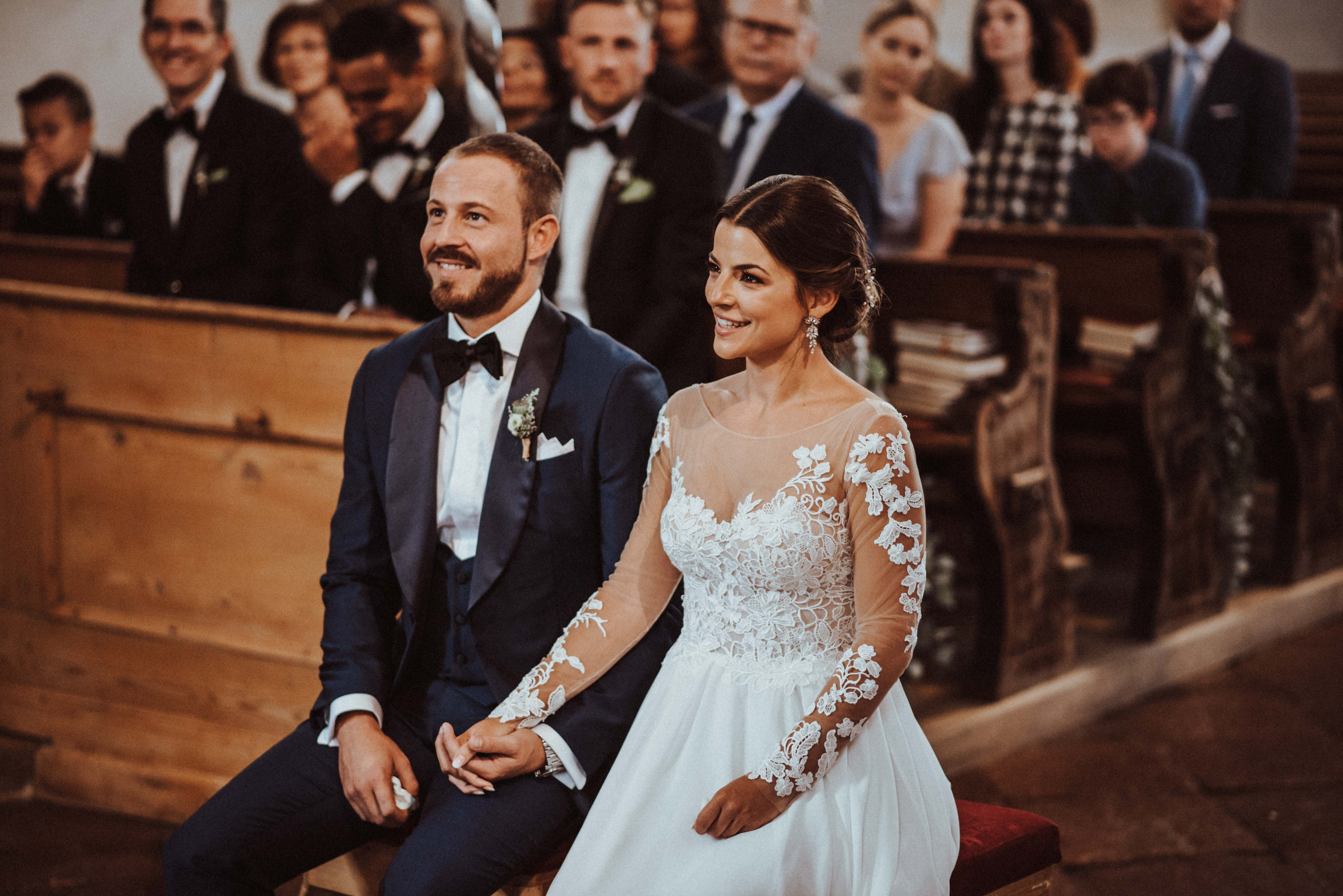 aufgeregt trauung Sonja Pöhlmann Photography Wedding München Bayern