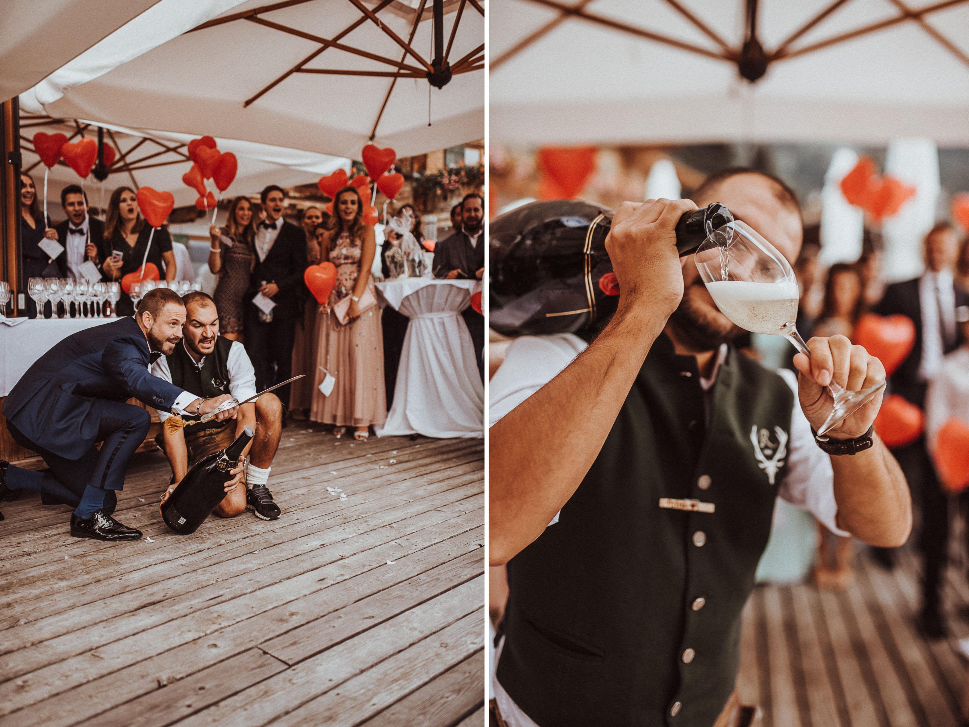 säbel moet Sonja Pöhlmann Photography Wedding München Bayern