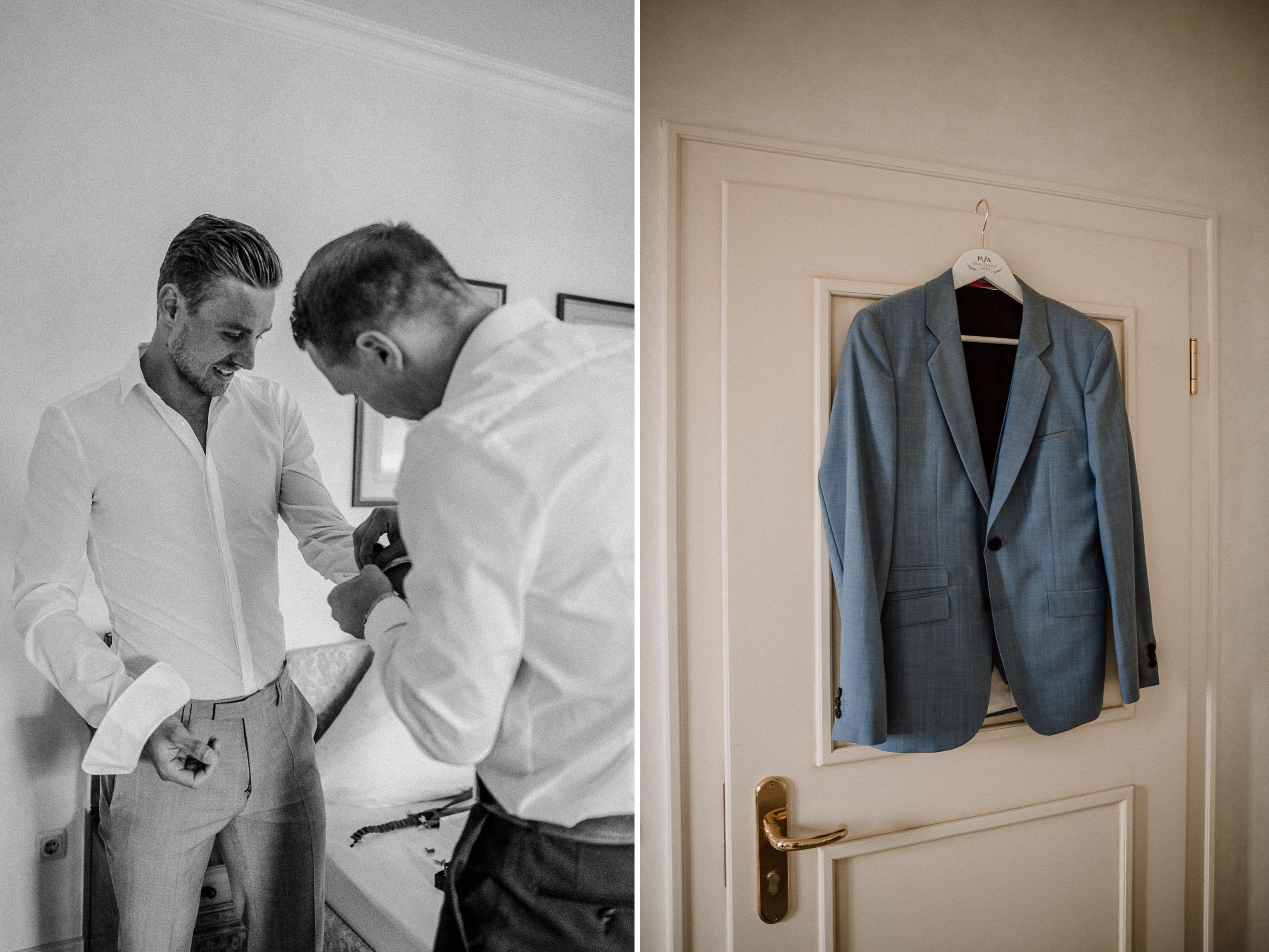 trauzeuge jacket sonja poehlmann photography couples muenchen bayern